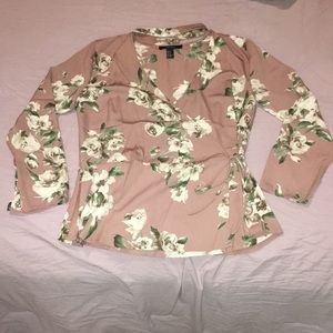 Tops - Forever 21 blouse with choker built in